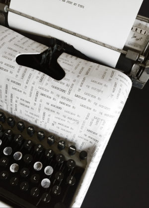 TYPEWRITER + MACHINA SCRIPTORIA